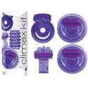 Coffret 4 Sex Toys Climax Kit Neon Pourpre