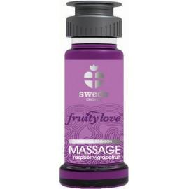 Huile de massage Fruity Love Swede Framboise Pamplemousse 50 ml