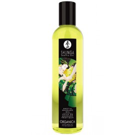 Huile de massage Biologique Thé Vert Shunga 250 ml