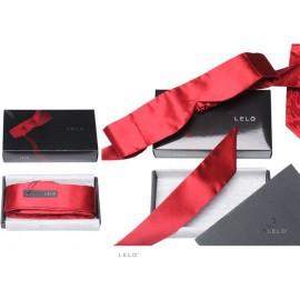 Bandeau rouge en soie Intima Silk Blindfold